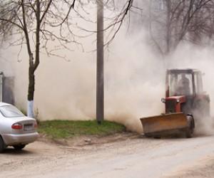 Губернатор Полтавченко объявил борьбу с городской пыли