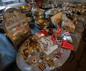 В особняке Нарышкиных обнаружен клад
