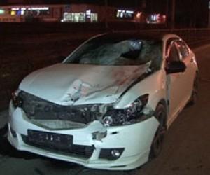 В Петербурге лейтенант полиции сбил насмерть женщину и ребенка