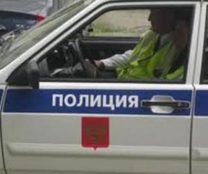 В Веселом поселке полицейский протаранил 2 маршрутных автобуса