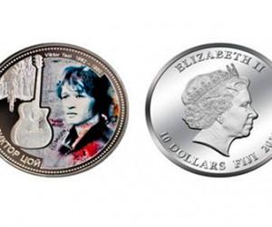 На Фиджи есть монеты с изображением Виктора Цоя
