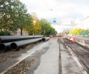 Благодатная улица закрыта до октября