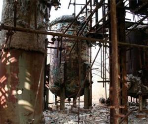В Выборгском районе произошел разлив химикатов