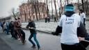 Сорок участников «Русской пробежки» задержаны в Кронштадте