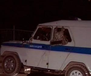 На Таллиннском Шоссе безработный протаранил полицейский автомобиль