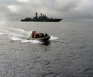 Карабли флотов четырех стран пришвортавались в Петербурге