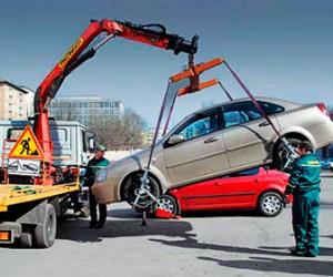 Было вывезено 6305 машин за неправильную парковку в Санкт-Петербурге