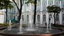 Фонтаны на Московской площади и в Александровском саду будут работать до второго августа