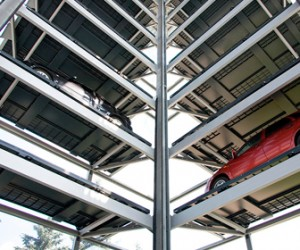 В Питере планируют организовать временный автоматический паркинг