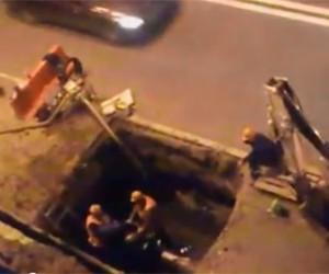 Жителям центрального района не давали заснуть аварийные работы