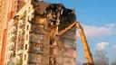 Сегодня на Васильевском острове провели плановое обрушение аварийного дома