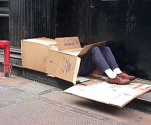 Бездомные хотят работать, но им мешают мигранты