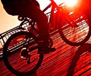 В Спб появился грабитель на велосипеде