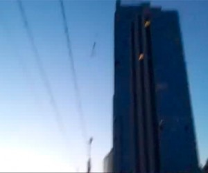 Парашютисты смогли покорить еще одно высотное здание в СПБ