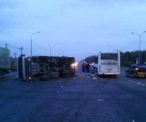 Авария с автобусом в Красном Бору: пострадал водитель