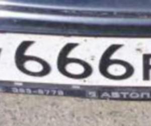 Пассажир машины с номером 666 ранил пассажира, убил водителя и уехал