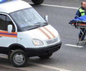 В аварии с участием полицейского пострадала беременная девушка