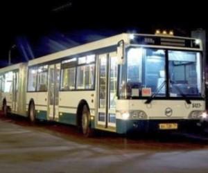 Спрос на ночные автобусы у жителей города не падает с приходом холодов