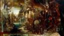 Иван Славинский изображает город в стиле фантастического реализма
