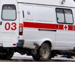 На Петергофском шоссе маршрутка задавила двух рабочих