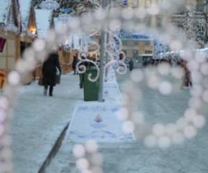 В городе открылась рождественская ярмарка