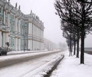 В СПб всю неделю будет идти снег