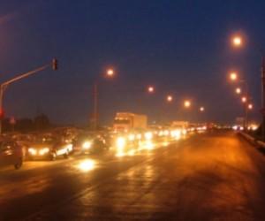 ДТП на Московском шоссе: в полночь длина пробки достигла 5 километров