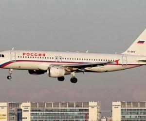 В Пулково совершил вынужденную посадку самолет, принадлежащий авиакомпании «Россия»