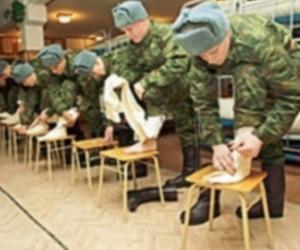 «Коммунисты Петербурга»: отказ от использования портянок разоружит солдат