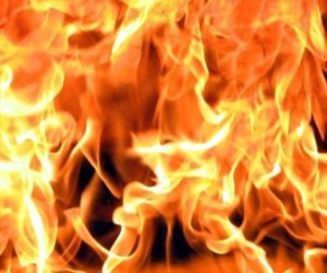 В результате пожара в Красном Селе погиб один человек