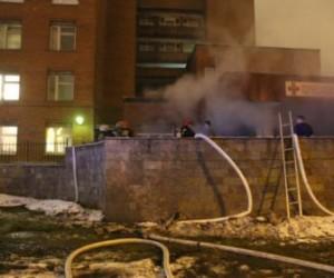 Полиция задержала виновницу пожара в Покровской больнице