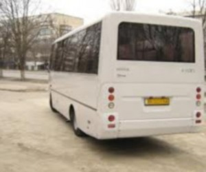 В Финляндии загорелся автобус, который перевозил чиновников