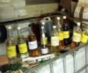 В Невском районе в гараже закрыли цех занимающийся производством поддельного алкоголя