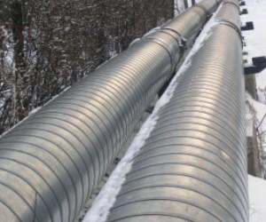 В Киришвском районе из-за произошедшей на газопроводе аварии без тепло остались пятнадцать домов