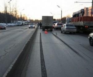 Авария у здания ГИБДД