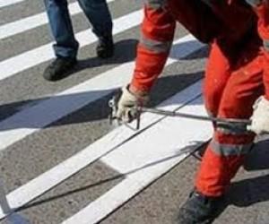 Дороги Ленинградской области будут размечены термопластиком