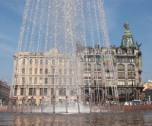 В Санкт-Петербурге 19 апреля откроется сезон фонтанов