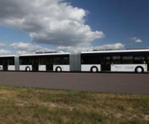Северная столица представит в Германии самый длинный в мире автобус