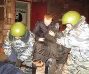 Нападение на полицейского в Петербурге