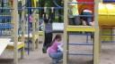Неизвестный хулиган обстрелял детскую площадку