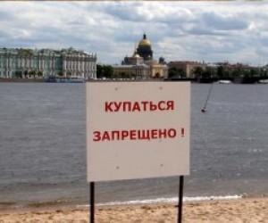 Купаться в питерских озерах опасно для жизни