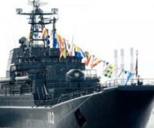 День ВМФ начнется парадом кораблей
