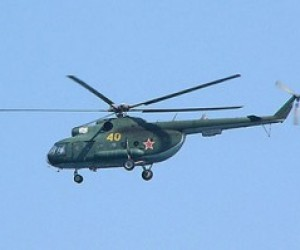 Вихрем от вертолета жителя Петербурга сдуло в Кронверкский канал