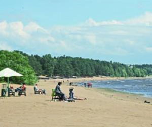 В Финском заливе разрешили купаться