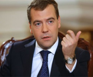 Дмитрий Медведев с официальным визитом в Петербурге