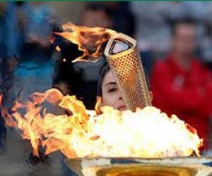 Питерская эстафета олимпийского огня