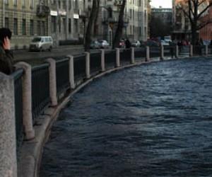 Возможное наводнение в Петербурге?
