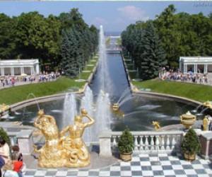 Один из заброшенных парков Петергофа