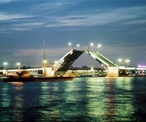 Торжественное открытие Дворцового моста
