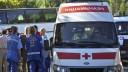 Лобовое столкновение рейсового автобуса: есть жертвы